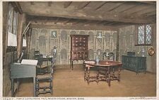 Lam(C) Boston, Ma - Paul Revere's Home - Interior - Family Living Room