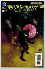 JUSTICE LEAGUE #38 FRANCIS MANAPUL VARIANT COVER - DC COMICS NEW 52 - 1/25