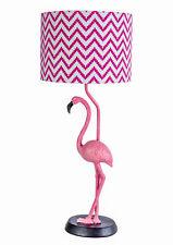 Lampe Flamingo Figur Nachttischlampe Tischlampe Tischleuchte Vogelfigur Leuchte