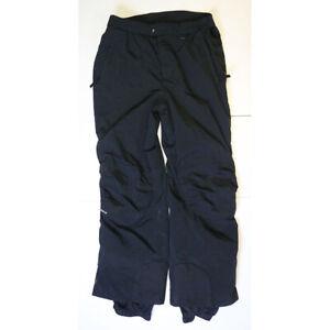 Obermeyer Men's Size Large Squaw Valley Black Nylon Snowboard Ski Pants