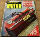 1968.Modern MOTOR.Ford FAIRLANE.Toyota 2000GT.Torana.Mini MOKE.VW 1500.Renault