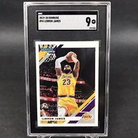 2018-19 Donruss Optic #94 LeBron James Lakers SGC 9 (Comp to PSA 9 BGS)