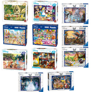 Disney 500 - 1000 Piece Jigsaw Puzzles Choice of 6 Official Cartoon Licensed