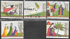 SOUTH AFRICA 2003 CHRISTMAS COMPLETE POSTALLY USED 0572