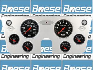 67 68 69 70 71 72 Chevy Truck Billet Aluminum Gauge Panel Dash Insert Instrument