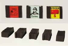 """Lot of 140 (1/2"""") Magnetic Counter Clips for Wargames, Orisek Industries"""