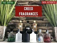 CREED AVENTUS, HIMALAYA, SILVER, VIKING,  GREEN IRISH, SANTAL 8ML SAMPLE DECANTS