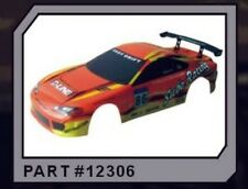 12306 1/10 SCALE DRIFT TOURING CAR BODY COVER SHELL RC ORANGE