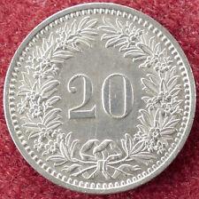 Switzerland 20 Rappen 1983 (D2004)