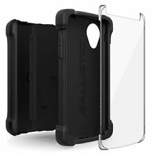 GENUINE Ballistic LG Nexus 5 Tough Jacket MAXX Holster Case Cover | Black