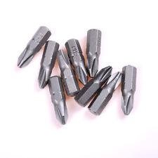 "10pcs 25mm 1/4"" Hex Shank Magnetic T20 Torx Security Screwdriver Bits Holes SY"