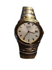 Men's Vintage Citizen Elegance Signature Watch 2510 H21483 Sapphire Crystal