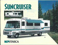 Motor Home Brochure - Itasca - Suncruiser - 1995  (MH117)