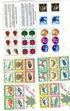 SINGAPORE 1973-1998 COMPLETE BOOKLETS X 5 OF MNH STAMPS UNMOUNTED MINT