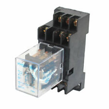 Dc 12v Coil 5a 3pdt General Purpose Power Relay Hh53p 11 Pin W Base Socket