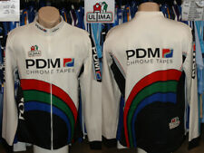 Old Vintage Size 6 Bike Cycling Shirt Jersey Longsleeve PDM Ultima Denmark