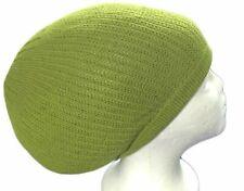 Lime Green Beret Tam Hat Rasta Slouch Beanie  Cap Dreadlocks Dreads Hair M/L Ras