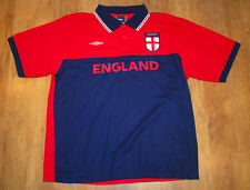 BNWT Umbro Angleterre Polo Shirt (Taille L)