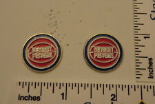 TWO Old 1989 Limited Edition NBA Basketball Pins - Detroit Pistons