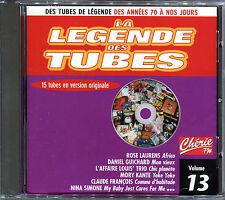 LA LEGENDE DES TUBES - COMPILATION CD - VOLUME 13 [2062]