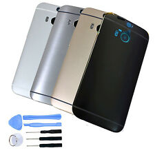 For HTC One M8 Housing Battery Rear Back Door Cover Replacement New