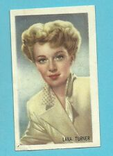 Lana Turner .  Vintage Kwatta Movie Star Card B