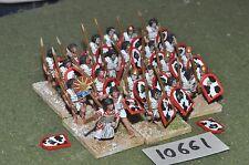 25mm foundry ancient egyptian spearmen 24 infantry (10661)