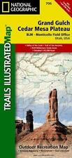 National Geographic UT Grand Gulch Plateau Trail Map Trails Illustrated Map 706