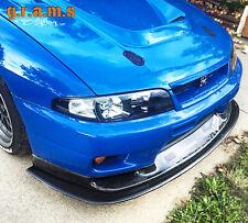 CARBON Splitter / Front Bumper Lip for Nissan Skyline R32 R33 Track Drift v8