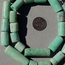 a strand of amazonite beads not ancient afghanistan #4121