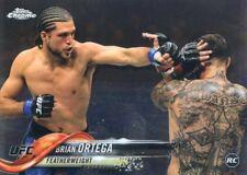2018 TOPPS UFC CHROME ROOKIE RC DEBUT BRIAN ORTEGA #79