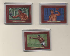 2010 Turkey Red Muhammad Ali #91-93  Ringside Boxing Round 1 SP Sport Kings