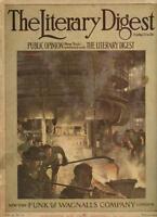 WWI Literary Digest Magazine March 20 1915 War Worlds Manufacturing Effort