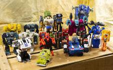 19 Hasbro, Bandai, Dx, Tranformers - Rock Lords, Scourge, 2V-Tank 1982 to 1986