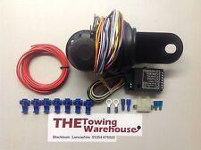 13 Pin Euro eléctrico Gancho de remolque remolque relé de bypass cableado Kit 7way cambus
