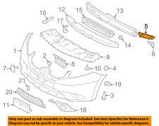 NISSAN OEM 14-18 Versa Note Front Bumper Grille-Side Bracket Left 622253VY0A