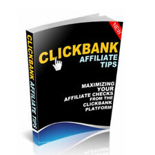 Clickbank Affiliate Marketing Tips W/ MRR + 12 eBooks With Master Resale Rights
