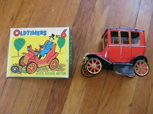 Modern Toys Old Timers No. 6 Mechanical Model T Car  Japan Box