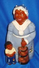 Black Americana Rick Wisecarver Rare Ceramic Cookie Jar