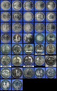 LUXEMBOURG - 2 EUROS COMMEMORATIVE 2004 - 2021 Toutes les Années Disponibles UNC