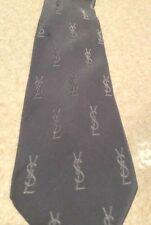 YSL Cravatta Seta Silk Tie