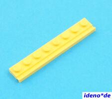 LEGO 1 Unidades Placa 1 x 8 con vías AMARILLO 4510 amarillo NUEVO