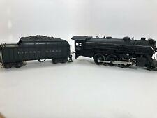 Lionel Prewar 225E Gunmetal Grey 2-6-2 Steam Engine Locomotive with Tender