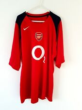 Arsenal Training Shirt. XXL 2XL. Official Nike. Red Adults Football Top Only.