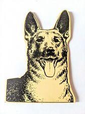 Vintage Sewing Needle Book Dog Advertising Watchdog Oil Heat German Shepherd