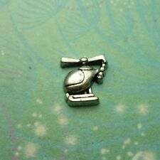 Helicopter Charm for Memory Lockets