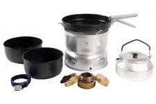 Trangia 25-6 Stove Non-Stick pans with Kettle Lightweight Ultralight Aluminium