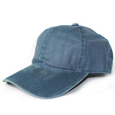 Mens Womens Vintage Washed Cotton Twill Low Profile Adjustable Baseball Cap