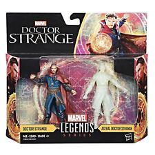 """Marvel Universe 3 3/4"""" 3.75"""" Figure Legends Dr Strange + Astral 2 Pack Doctor"""