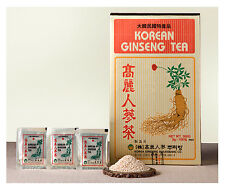 Herb Korean Ginseng Tea 0.10oz(3g)  100 Packets  Reduce Stress  No Caffeine